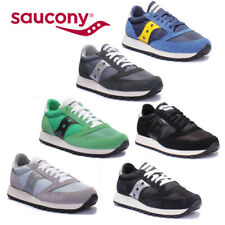 Saucony Jazz Original Mens Black and White Miscellaneous Trainers UK Size 6 - 12