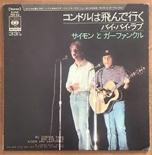 "Simon And Garfunkel – El Condor Pasa 4 Tracks EP Japan 7"" Vinyl SONE 70123"