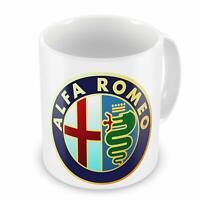 Alfa Romeo Car Manufacturer Coffee Tea Mug For Gift Present - White Mug 11Oz