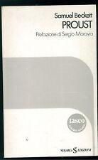 BECKETT SAMUEL PROUST SUGARCO 1978 TASCABILI 4 CRITICA LETTERARIA MORAVIA