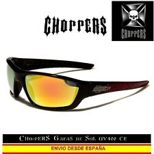 CHOPPERS Gafas de Sol CE UVAB moto Biker Sunglasses Lunettes Occhiali