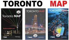 Map Toronto 🚇🚋 Downtown Subway Underground Transport Atlas Guide Canada