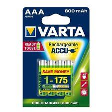 Varta ready pilas 2use (ni-mh) micro bli-4 1,2 V/800 mah AAA recargable