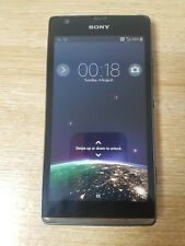 Sony Xperia SP C5302 - 8GB - Black- 4G- (EE) Smartphone