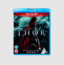 Thor Blu-Ray [3D + 2D Version, Region B] Marvel Comics Superhero Movie - NEW