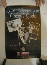 Jerry Harrison Poster Casual Gods The Talking Heads