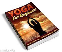 Yoga For Beginners E-book PDF Free Shipping  + Bonus Ebook