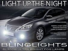 Xenon Halogen Fog Lamps Driving Lights Set for 2013-2015 Nissan Sentra 13 14 15