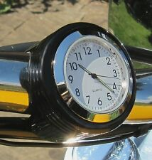 New British Made Darkside Groove Bar Clock, Harley, Bike, Motorcycle