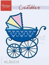 "Marianne Design Creatables Dies ~ Baby Carriage, LR0218 ~ 2.875""X3.25"" ~ NIP"