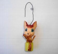 Figurine ancienne de Noel WDP disney vintage ornament Christmas Bambi : Panpan