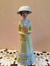 "1980 Avon Mrs Albee Presidents Award Bisque Porcelain Figurine 9"" Tall Mint"