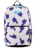 "LICENSED 18"" Kids FORTNITE Purple LOOT LLAMA PIÑATA  Amplify Backpack Laptop Bag"