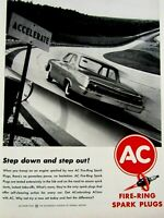 "1962 Chevrolet Impala Step down And Step Out  AC Original Print Ad  8.5 x 11"""