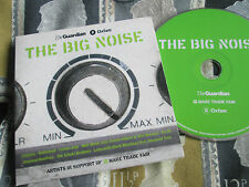 The Big Noise  Various Artists The Guardian ‎– Oxfam ‎– UK Promo CD Album