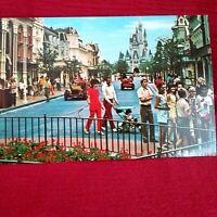 Walt Disney World Main Street USA Vintage Postcard NEW
