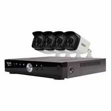 Revo Aero Hd 4-Channel 5Mp 1Tb Video Surveillance Security System with 4 Cameras