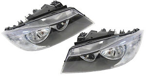 Pair of Headlights (Halogen Type) suit BMW E90 3 series Sedan 2005-2008