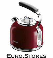 Kenwood SKM031 kMix Traditional Kettle 1.25L Red Stainless Steel 2200W GENUINE