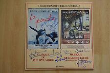 """Selection """"Cannes 1984 Autographs signed LP cover"""" Soundtrack """"Vinyl"""