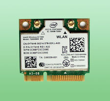 Original Intel Wireless-N7260 Model7260HMW BN 802.11b/g/n BT4.0  300 Mbps 0Y74H6