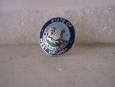 West Virginia    State Seal cloisonne  logo  lapel pin