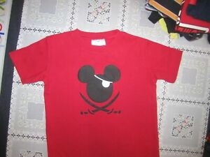 ~CUTE BOYS MICKEY MOUSE PIRATE SHIRT...SIZE  5T...2.99