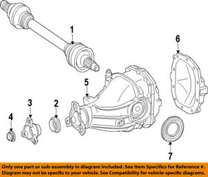 MERCEDES OEM 07-15 E350 Rear-Axle Seals 0259972647