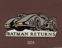 Pin's Demons & Merveilles Cinema Batman Voiture Returns