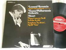 MOZART Piano Concerto 15 Symphony 36 LEONARD BERNSTEIN London stereo dg LP