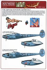 NEW 1:48 Kits World Decals 48207 Lockheed P-38L Lightning's of the Pacific Set 2