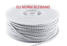 5m 100g Bleiband Gardinenbleiband Blei ÖKO Bleiband EU Norm