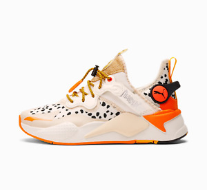 PUMA x THUNDERCATS RS-X T3CH Cheetara Thunder Cats Marshmallo White Orange Tiger