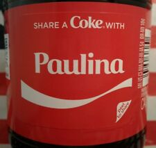 Share A Coke With Paulina 2018 Limited Edition Coca Cola Bottle