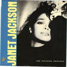 JACKSON, Janet  (Pleasure Principle, The)  A&M 2927 = PICTURE SLEEVE ONLY!!!