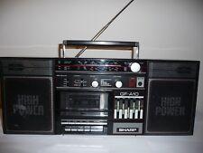 Sharp GF-A10 Boombox