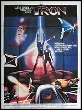 TRON Affiche Cinéma / Movie Poster DISNEY 1982 160x120 Jeff Bridges