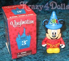 "Disney 3"" Vinylmation 2014 Fantasia Sorcerer Mickey Mouse Disneyland Resort"