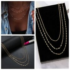 2019 Fashion Multi-layer Bead Rope Chain Necklace Jewelry Gift Summer For Women