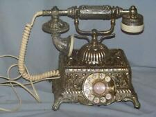 Vintage Imperial Classique metal rotary phone by radio shack Very Ornate