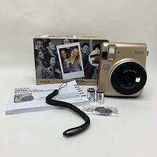 FujiFilm Instax Mini 70 Instant Camera - Stardust Gold 10 Shot Pack Boxed
