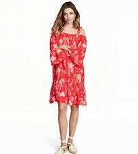 H&M Floral Regular Size Dresses for Women