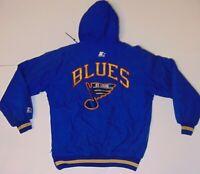 Size Small St. Louis Blues NHL Hockey Jacket Coat NHL Hockey Starter Jacket Coat