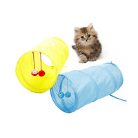 SMALL ANIMAL TUNNEL RABBIT FERRET HAMSTER GUINEA PIG EXERCISE TOY PET TUBE SUPRE