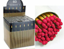 EXTRA LONG HOUSEHOLD/BBQ MATCHES. 27CM/10 INCHES LONG PACK OF 60