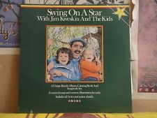 JIM KWESKIN & THE KIDS, SWING ON A STAR - LP MR 52793 W/ COLORING BOOK