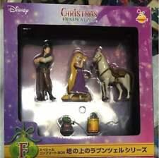Disney Princess Tangled Rapunzel Christmas Ornament Complete Set Pottery Japan