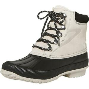 Tretorn Womens Roka Suede Cold Weather Waterproof Rain Boots Shoes BHFO 1390