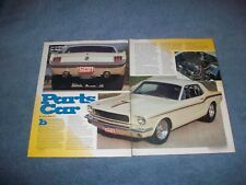 "1965 Ford Mustang Coupe Vintage Pro Street Article ""Parts Car"""