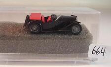 Praliné 1/87 Nr. 5900 MG Midget TC Cabrio offen schwarz OVP #664